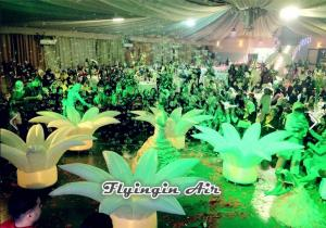 China Inflatable Wedding Flower with Led Light for Stand, Party and Theme Decoration on sale
