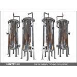 Melt blown pp stainless steel filter housing / water filter housing