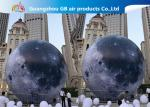 Custom 5m Inflatable Lighting Decoration Lighted Moon Ball For Outdoor