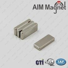 China Block ndfeb magnet 10x1.2x2.8mm magnet N52 on sale