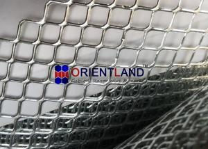 China 2mm-50mm Plain Expanded Metal Lath Sheet Wide Application Range on sale