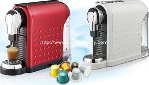 China Nespresso Coffee Capsule Machine for Italy Market on sale