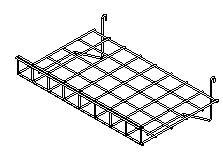 China Lilladisplay gridwall flat shelf with lip 600 x 380mm chrome 22431 on sale