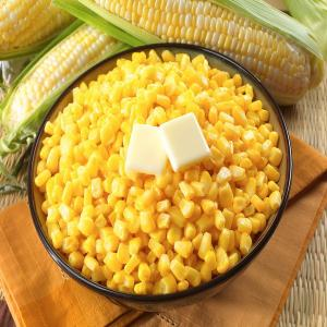 China Tasty Organic Freeze Dried Sweet Corn Kernel for Dessert on sale