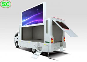 China P6 Outdoor Digital Billboard Mobile Truck LED Display for Advertising on sale