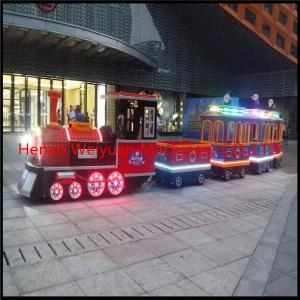 China Professional Manufacture  Shop Market Tourist Electrical Trackless Train on sale