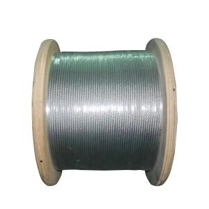China Galvanized PVC Coated Steel Wire Rope Durable For Architectural Decoration on sale