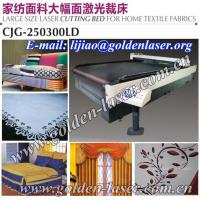 China 2013 CO2 100W 150W 200W Laser Cloth Cutting Machine on sale