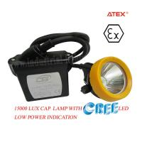 KL5LM Waterproof Mine Safety LED Mining Lamp 3.7V 15000 Lux , Rechargeable Mining Lamp