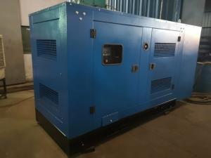 China 24V Electric Start Diesel Standby Generator Silent Type 100KW / 125KVA For Home on sale