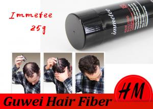 China 100% Healthy Safe IMMETEE Hair Building Fibers Hair Loss Product 25 Grams on sale