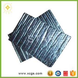 China Double Sided Aluminum Foil Bubble Thermal Insulation Material Reflective Foil Insulation For building on sale