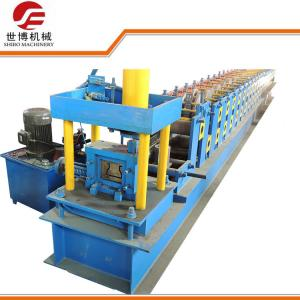 China High Capacity Storage Rack Roll Forming Machine With Sheet Bending Machine on sale