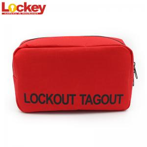 China Waterproof Nylon Fabric Lockout Bag Mini Personal Safety For Portable on sale