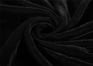 China Black Weaving Microvelvet Fabric Dyed Pattern Velvet Decorator on sale