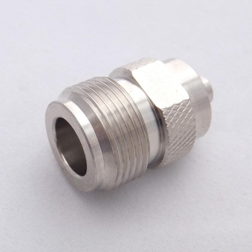 FEMELLE de N pour le câble semi rigide RG141, RG402