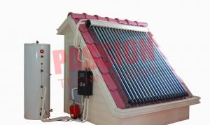 China Professional 6 Bar Split Solar Water Heater Homemade For Low Temperature Area on sale