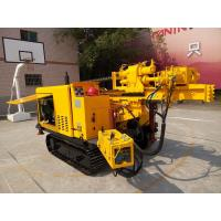 300m DTH  And Rotary Crawler Geotechnical Drill Rig Portable Water Well Drilling Rigs
