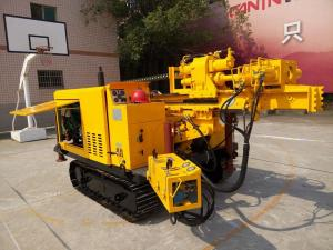 China Multi function Hydraulic Drilling Rig Crawler Mounted / Diamond Core Drilling Rig on sale