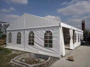 China Customized Size Aluminum Frame PVC Cover Outdoor Tent For Living / Storage on sale
