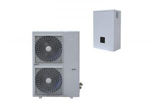 China Split Type Air Source Heat Pump Dc Inverter Heating And Cooling With CE on sale