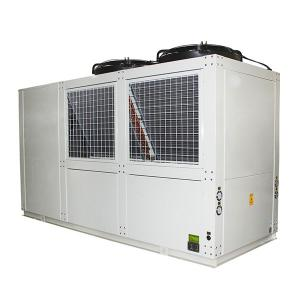 China Screw Air Cooled 50HP R404a Industrial Water Chiller on sale