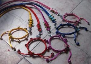 China Braided Rope Dog Leash on sale