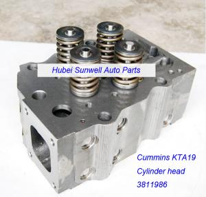 China Cummins K19 cylinder head assy 3811986 on sale