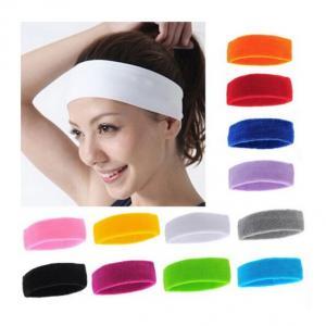 China EchoFlove Sports Sweatband Sweat Absorbing Sports Women Yoga Headband Sports Protective Safety Protector Head Band on sale