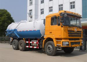 China Sewage suction tanker 12CMB Euro 4 Gearbox Sewer Suction Truck 190HP on sale