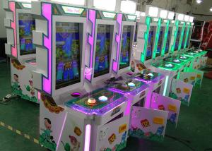 China Entertainment Center 3 Players Coin Operated Game Machines High Return on sale