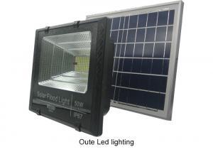 China Bright Solar Powered Flood Lights / Portable Solar Led Garden Lights on sale