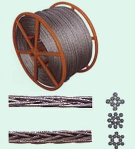 China High Flexibility Anti twist Wire Rope Overhead Line polit Rope 12 strands on sale