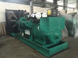 China 1250KVA Industrial Diesel Generators Cummins Power KTA50-G3 on sale