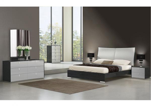 Wood Grain Melamine Bedroom Set Alkali Resistant 6- Door ...