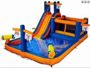 China PVC 0.55mm 18oz Inflatable Pirate Bay Bouncer Giant bouncing castels combo inflatable bounce inflatable bouncers on sale