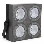 4x30w RGB 3in1 Full Color Mini Pocket LED COB DMX Audience Blinder Light with SMD LED Strip