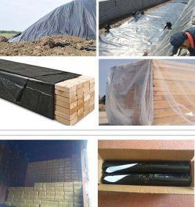 China Stretch Film Type and Agricultural Packaging Film Usage LLDPE Silage Film/bale wrap plastic/silage plastic on sale