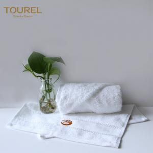 China Luxury Customized Embroidery logo 100% Cotton Bath Towel , Hotel Towel Sets on sale