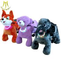 Hansel battery plush animal electric scooter and coin operated battery animal ride with adult ride on toys