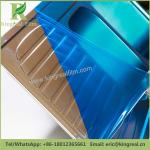 Customizable PE Self Adhesive Protective Film Temporary Anti Damage and Dirt Stainless Steel Protective Film