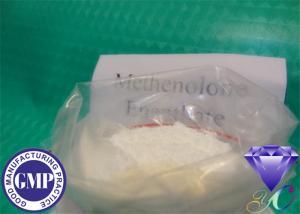 Quality CAS 303-42-4の未加工ステロイドは同化ステロイドホルモンMethenolone Enanthateを粉にします for sale