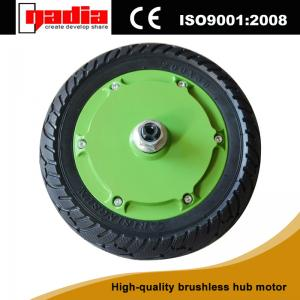China 8 inch brushless e-wheels electric motors on sale