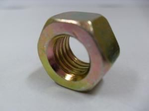 China DIN934 HEXAGONAL NUTS M16 with YELLOW ZINC PLATED on sale