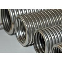 China Chemical Helical Corrugated Stainless Steel Hose / Wire Braided Hose on sale