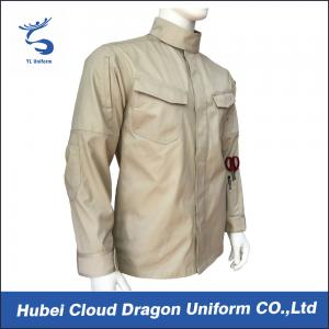 China Cotton Poly Twill Military Combat Shirts Long Sleeve Work Shirts All Size on sale