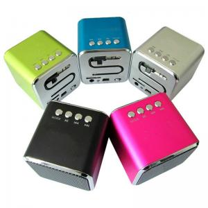 China External Wireless Cell Phone Speakers Green For iPad / iPod on sale