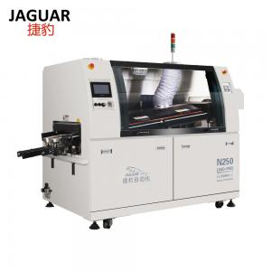 China Front Panel Controlled lead-free dual wave soldering machine JAGUAR N250 on sale