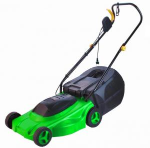 China High Efficiency 1300w Garden Electric Mowers Soil And Water Conservation Long Lifespan on sale