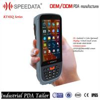 China Quad-core 5200mAh Battery Wireless 8MP Camera Android PDA Barcode Reader Inventory on sale